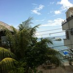 Ocean view from room balcony