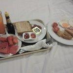 Breakfast in my room