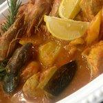 zarzuela - bouillabaisse aux fruits de mer / les éphémères