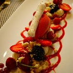 Berry & Gruyere double cream- I know- beautiful & so delicious