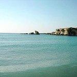Spiaggia a 150 metri dal B&B Villa Matari