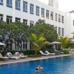 Pool and Garden Courtyard