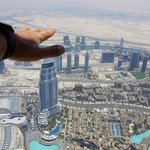 At the Top of Burj Khalifa