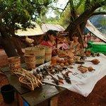 Les guaranis, tribu voisine