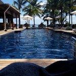 Une magnifique et grande piscine