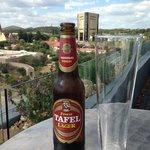 Beer overlooking Windhoek