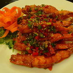 Tiger Prawn on Skewer with Chilli
