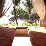 Massages at ocean side