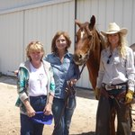 Jan and our Cowgirl Guides