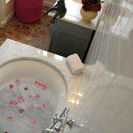 Salle de bains chambre Blanche