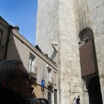 la torre con la vista del elefante que le da el nombre
