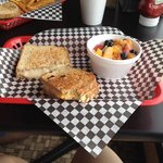 Daily special was grilled cheese and a fruit cup. It was delicious!! Will be back!