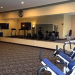 Large clean and adequate fitness room