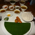 The awesome food at bhaat ban