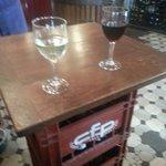 Fun makeshift tables