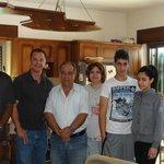 Vernon and me with Khouriya family
