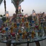 cocktails at dusk