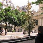 Place de la Sorbonne, vista da mesa