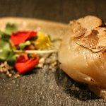 Мурманский гребешок с пьемонтским трюфелем