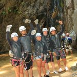Just finished repelling