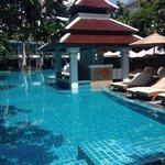 Pool w pool bar