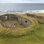 Knap of Howar is over 5,5000 years old and is less than half a mile from our hostel