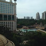 view from the connection to sunway resort & spa hotel