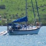 Sailboat leaving...