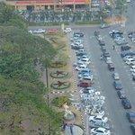 view from Menara Taming Sari