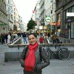 Beautiful lady in beautiful Vienna...