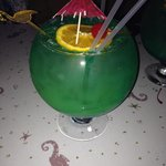 Fish bowl.  21 dollars for 40 bucks with of booze.  Great deal!