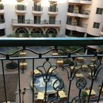View of Courtyard from room 304 balcony