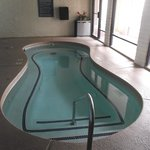 Small indoor pool.