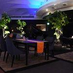 The top floor bar