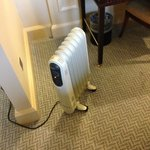 The heater in an expensive room......