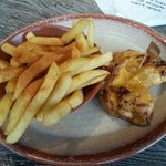 Butterfly Chicken with Peri Chips