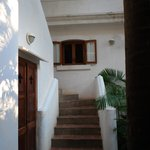 stair access to the upper floor rooms