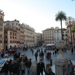 Piazza de Spagna from the Spanish Steps
