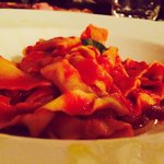 Best fresh pasta I have had in Sicily.... Great service...would definitely visit this restaurant