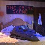 """A """"crime scene"""""""