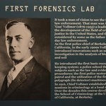 A history on forensics
