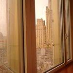 Вид из окна на МИД