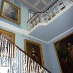 The wonderful hall and staircase