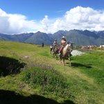 Horse riding   in Moray - Chakana Tour Peru