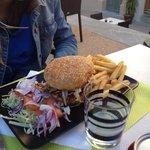 Copieux hamburger !!