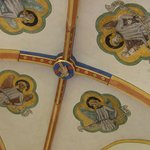 Ceiling frescos in the cloister