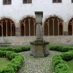 Cloister and well