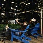 rooftop de l'hôtel au top !