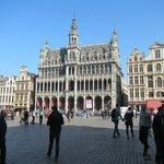 View of Grand Place on Monday
