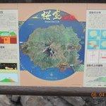 Mapa do vulcão